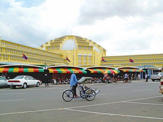 Chợ Phsa Thmey ở Campuchia