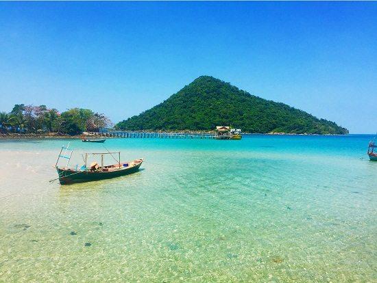 Đảo Koh Rong Samloem ở Campuchia