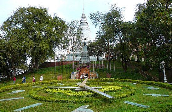 Chùa Wat Phnom ở Phnom Penh