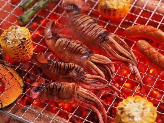 Thưởng thức hải sản nướng ở Sihanoukville