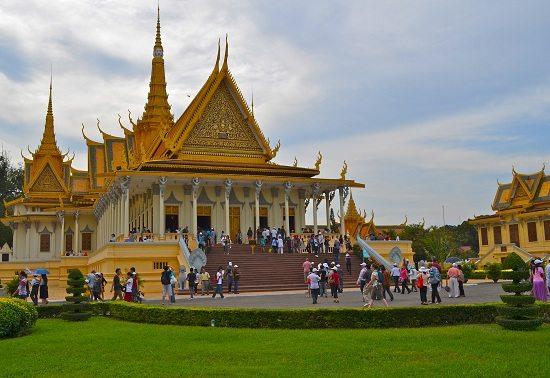 Hoàng Cung Campuchia ở Phnom Penh